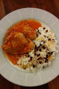 我が家のイラン料理~ゼレシュクポロモルグとおもてなし編~