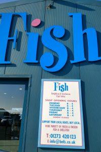 海辺の魚屋さん