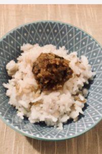祖母直伝の味噌炒り